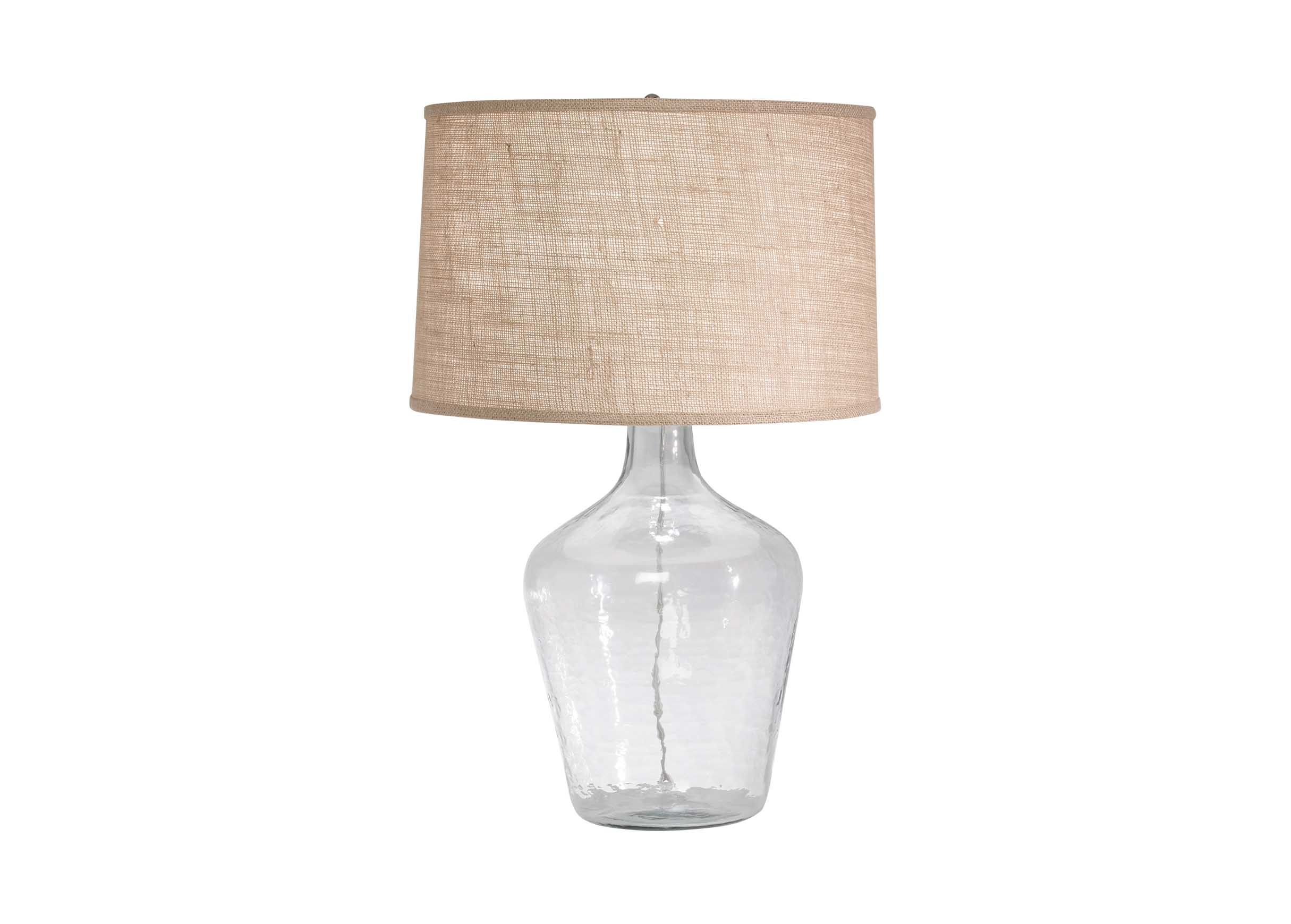 Glass plum jar table lamp table lamps sitegenesis 10112 images glass plum jar table lamp largegray geotapseo Images
