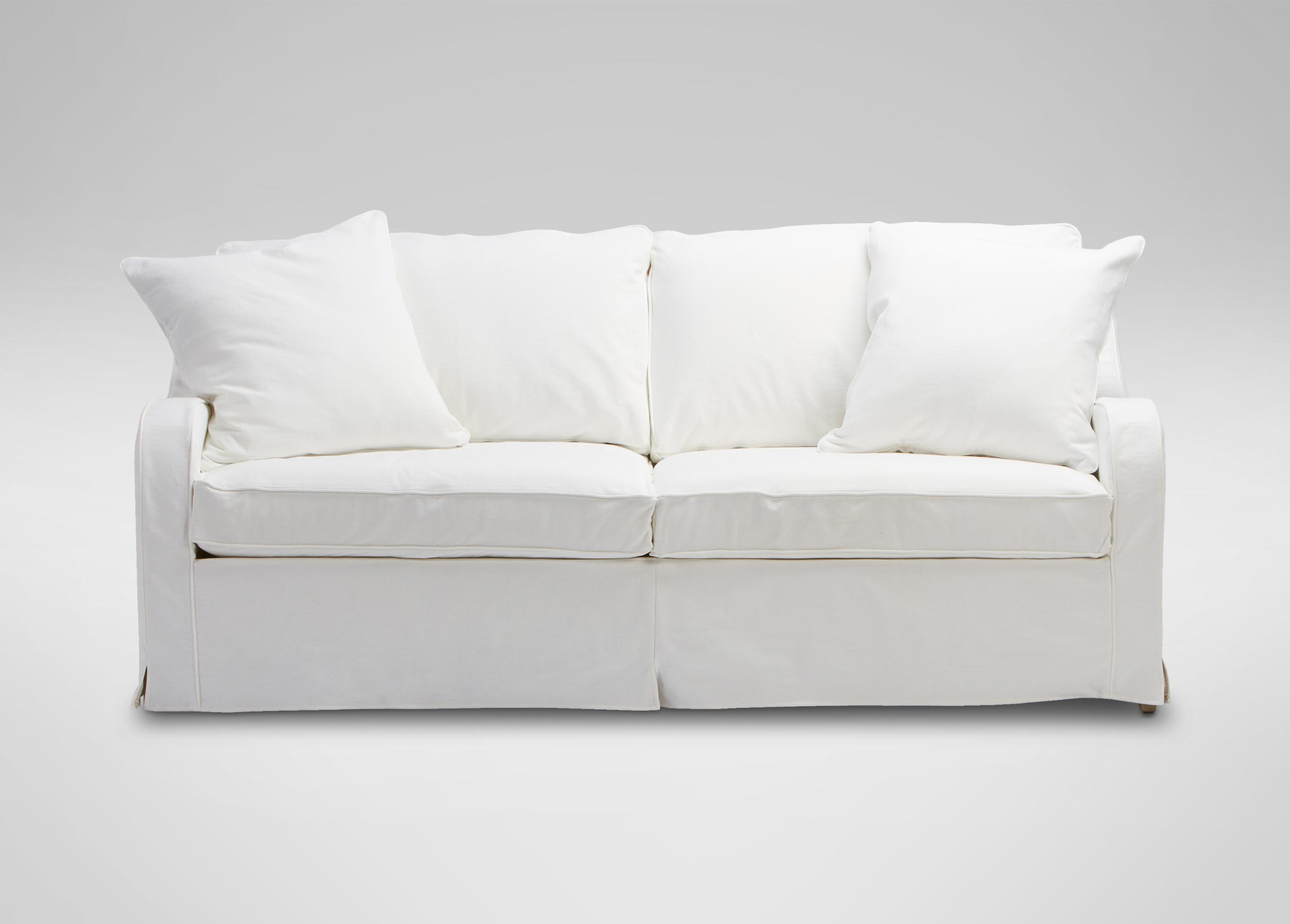 Dylan Slipcovered Sofa , , Large_gray