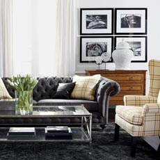 Classic Chrome Living Room