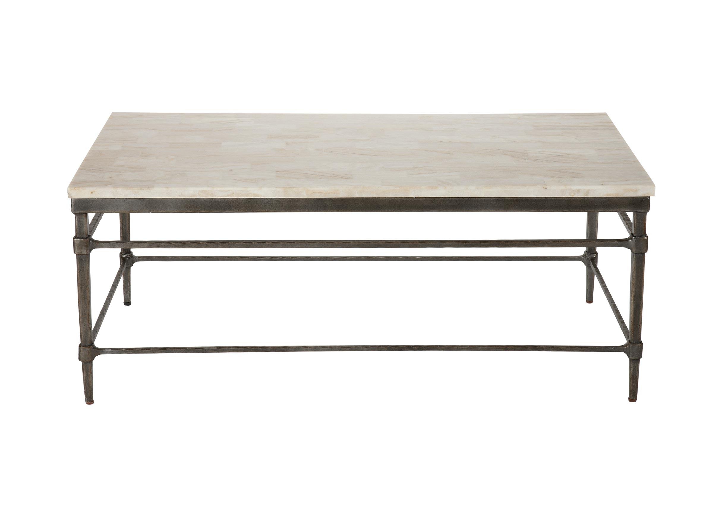 Top Vida Stone-Top Coffee Table   Coffee Tables   SiteGenesis   101.1  OB98